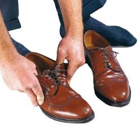 Cordones elásticos para zapatos / Café