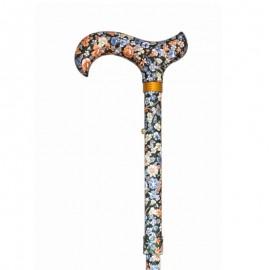 Bastón Plegable y Ajustable de Moderno Diseño de Flores