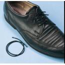 Cordones elásticos para zapatos / Negro