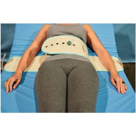 Inmovilizador magnético de tronco para cama